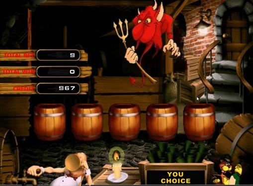 Бонус игра на машината Дяволи