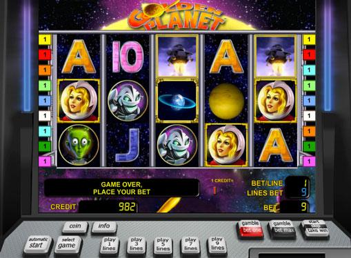 Golden Planet играйте за пари