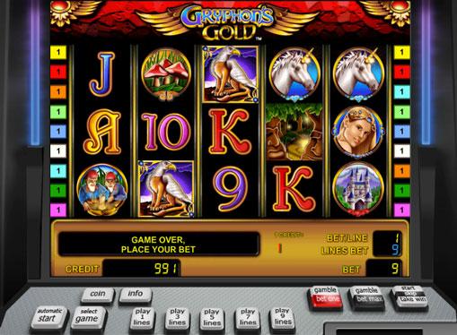 Gryphons Gold - игрална машина за пари