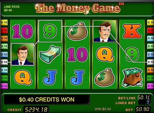 Слот машина The Money Game барабани
