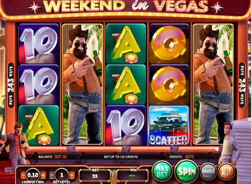 Слот машина Weekend in Vegas онлайн за пари със заключение