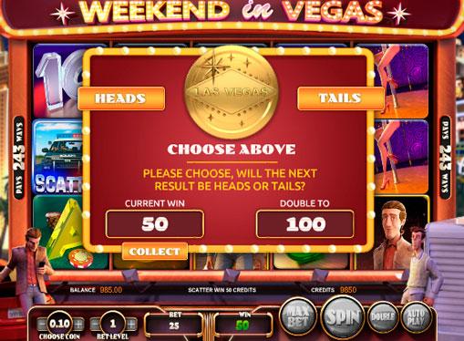 Характеристики на играта в онлайн слота Weekend in Vegas