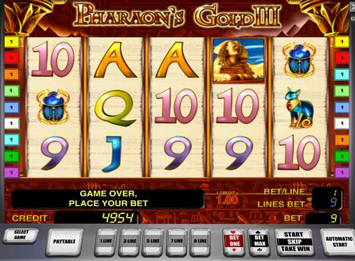 Pharaoh's Gold III играйте с истински пари