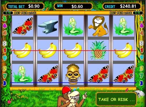 Онлайн игрална машина Crazy Monkey