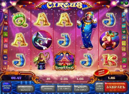 Игрална машина Цирк HD външен вид