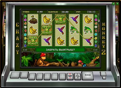 Отпадане на бонус играта в crazy monkey 2